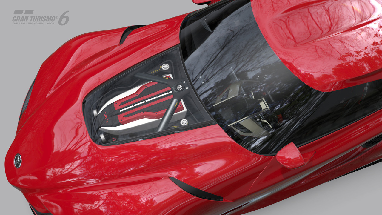 Drive the Toyota FT1 Concept Coup in Gran Turismo6  gran