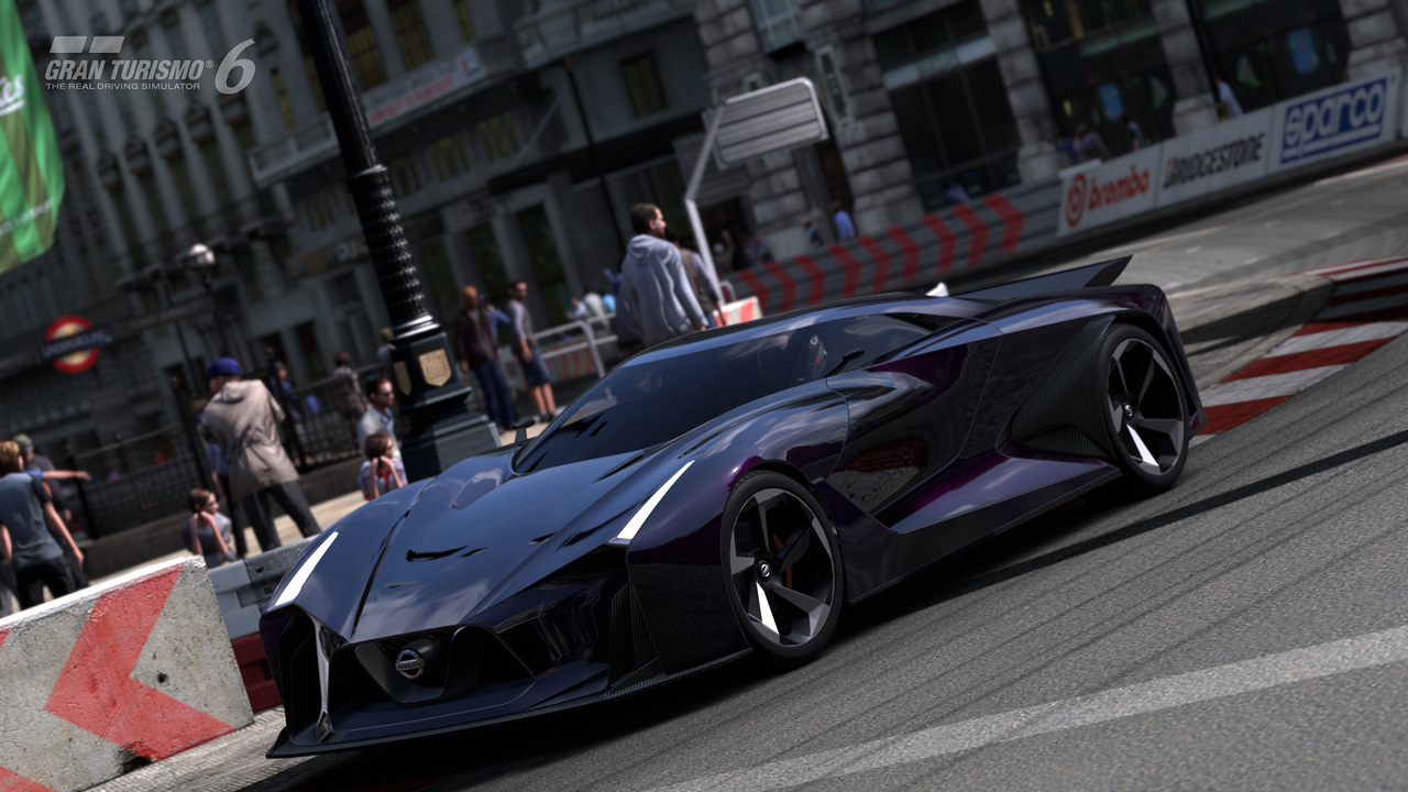 「NISSAN CONCEPT 2020 Vision Gran Turismo」のメイキング映像とスクリーン ...