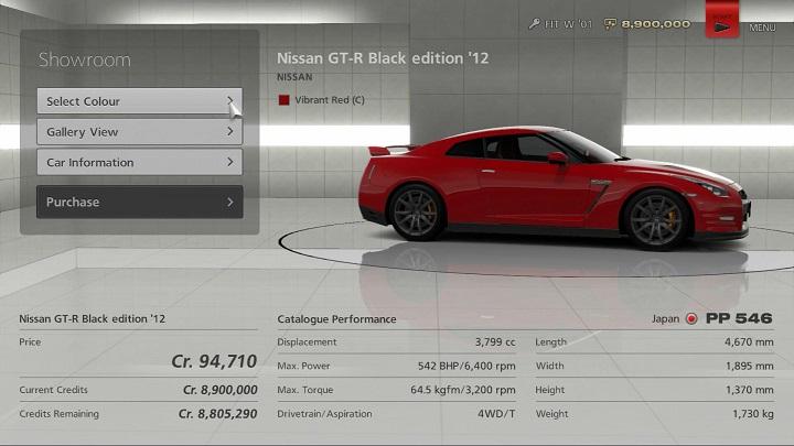 viewing a car s catalogue performance managing your cars gran rh gran turismo com Japanese Tuning Car car tuning manual pdf