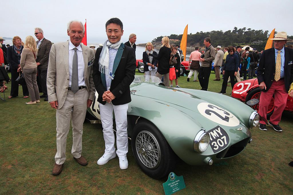Aston Martin B3S Sports - Trophée Gran Turismo Peeble Beach 2013