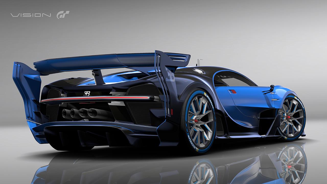 bugatti vision gran turismo show car revealed at frankfurt. Black Bedroom Furniture Sets. Home Design Ideas