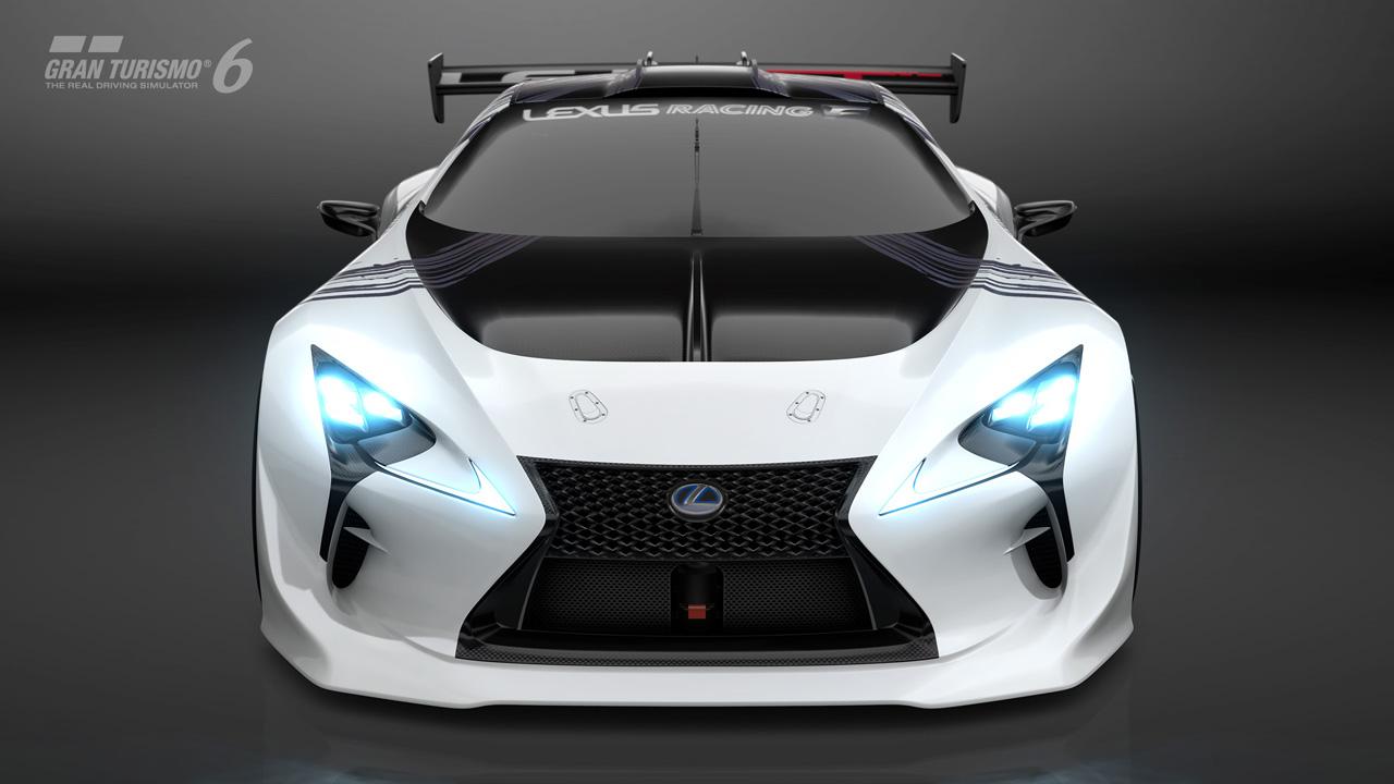 Introducing The LEXUS LF LC GT Vision Gran Turismo