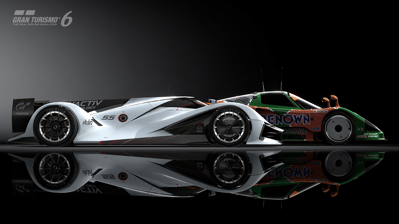 Introducing The Mazda Lm55 Vision Gran Turismo With A