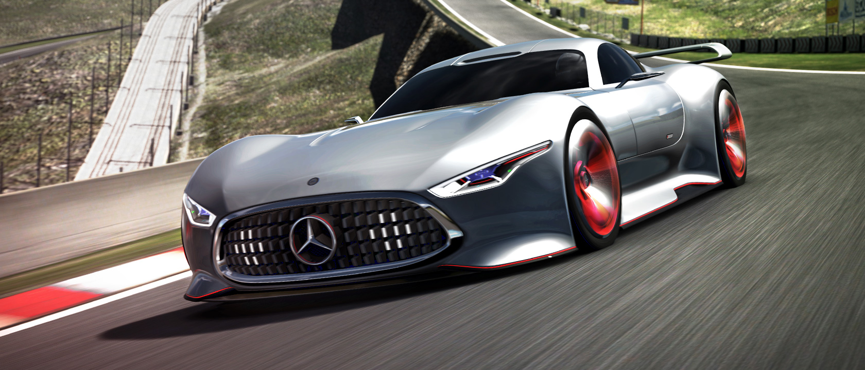 Mercedes benz amg vision gran turismo racing series for for Mercedes benz vision