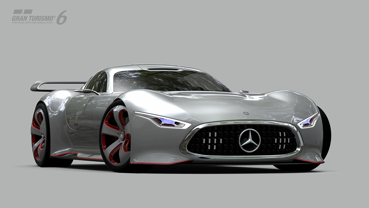 mercedes benz amg vision gran turismo unveiled as first in vision gran turismo series gran. Black Bedroom Furniture Sets. Home Design Ideas