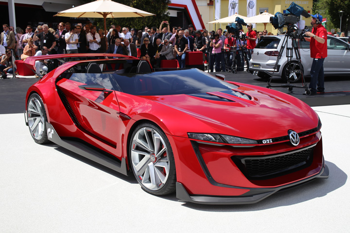 Volkswagen Reveals a Full Scale Model of their Vision Gran Turismo at the GTI Meeting - gran ...