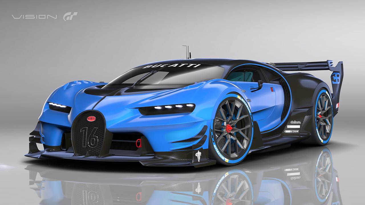 Bugatti gran turismo vision