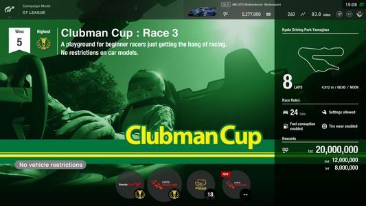 GT League: Puchar Clubmana