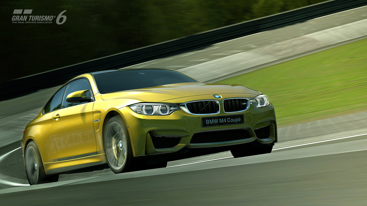 Bmw M4 Coup 233 Comes To Life In Gran Turismo 174 6 Gran
