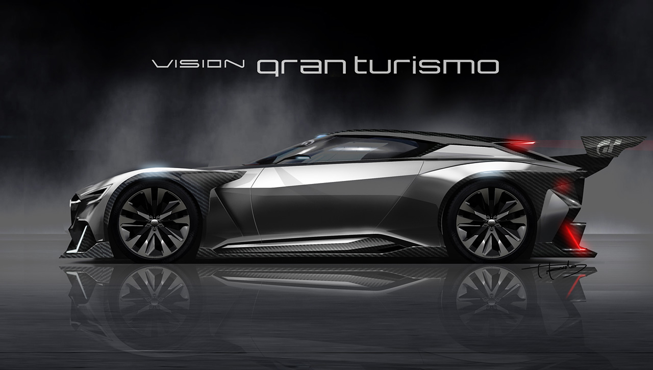 Introducing The Subaru Viziv Gt Vision Gran Turismo Gran