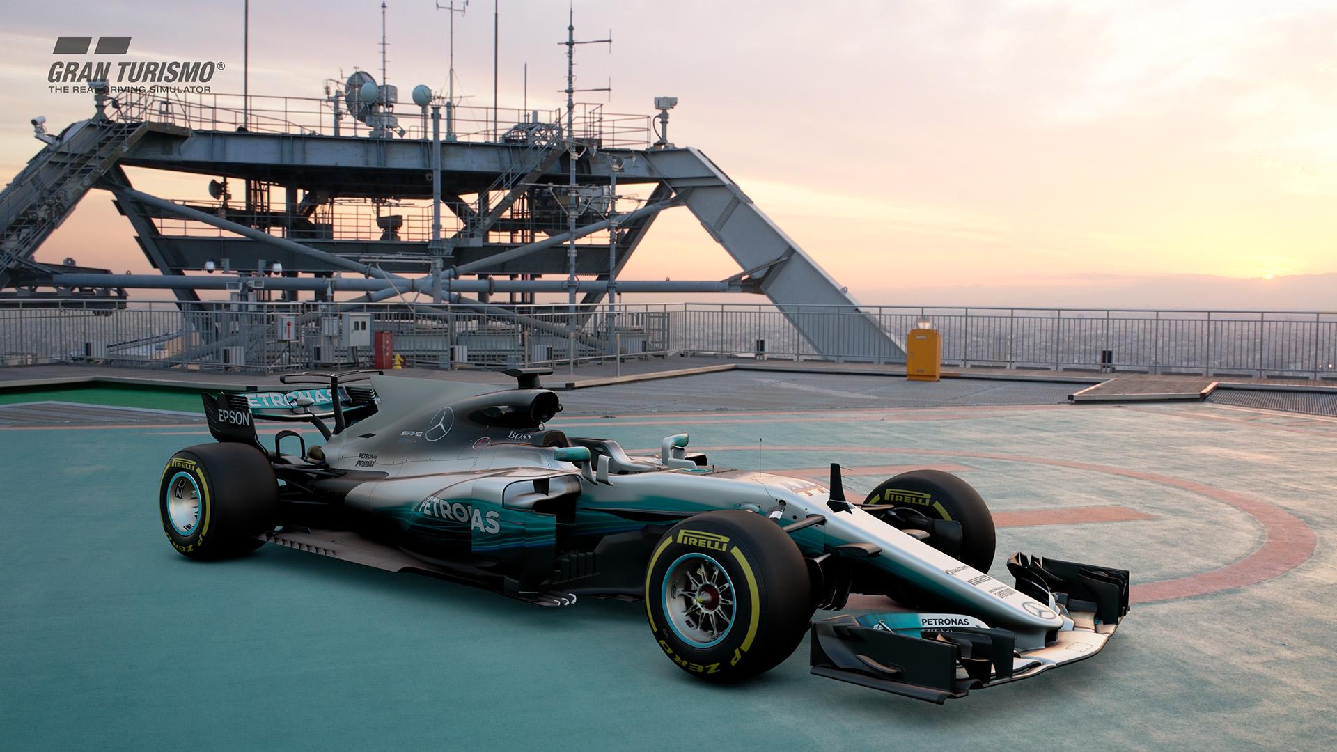 Mercedes Amg F1 W08 Eq 2017 Gr X