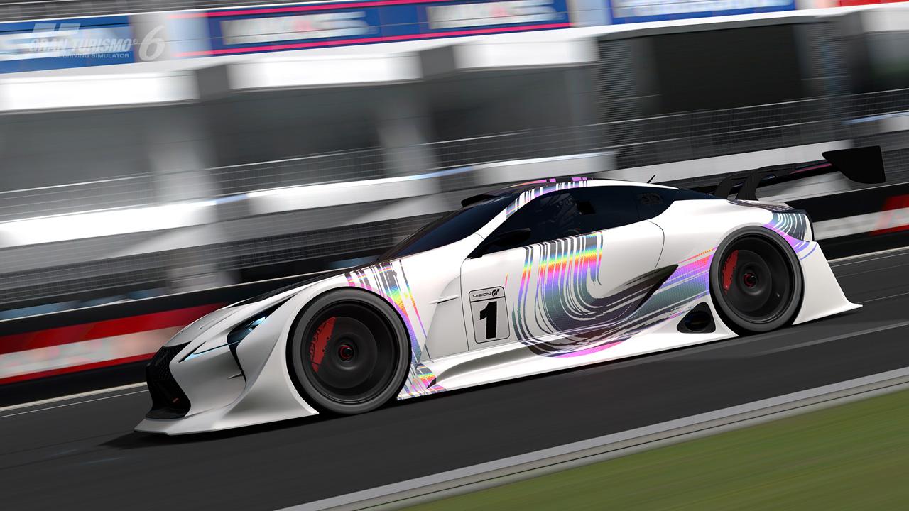 "Gran Turismo Sport Update >> Introducing the LEXUS LF-LC GT ""Vision Gran Turismo ..."