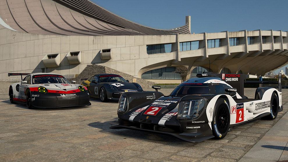 This Is The Latest Prototype Race Car Of Toyota, A Direct Rival To The  Porsche 919. The Hybrid Powertrain Combines A Turbocharged 2.4 Litre ...