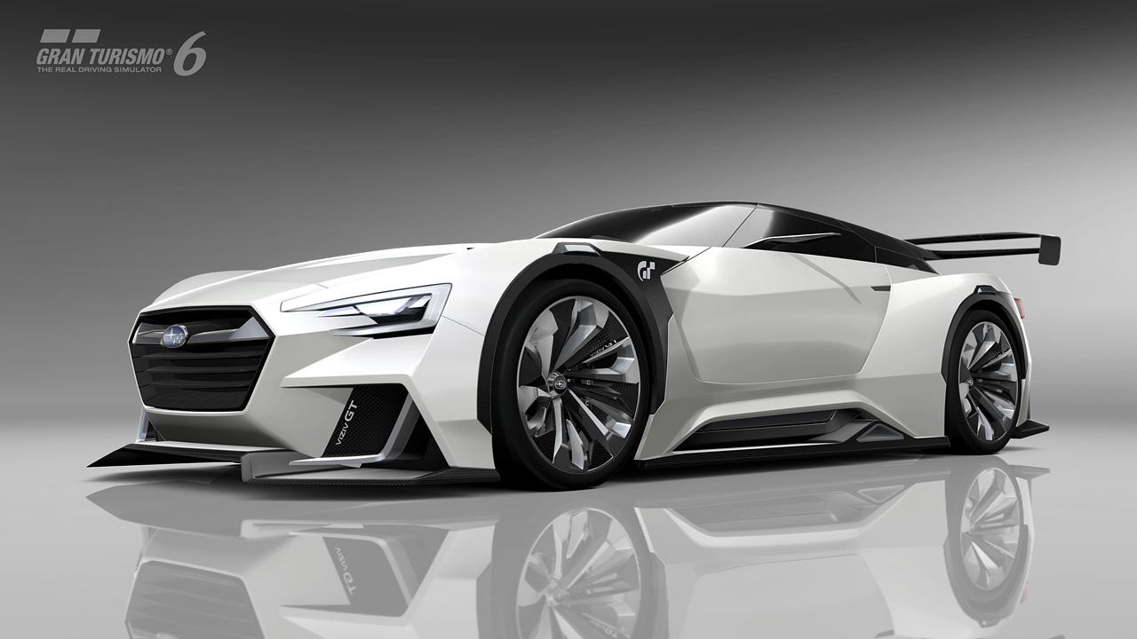 Introducing The SUBARU VIZIV GT Vision Gran Turismo