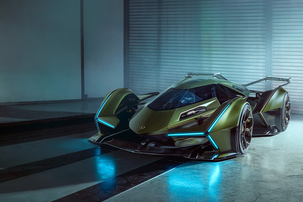 Lamborghini Lambo V12 Vision GT Unveiled at the World Finals