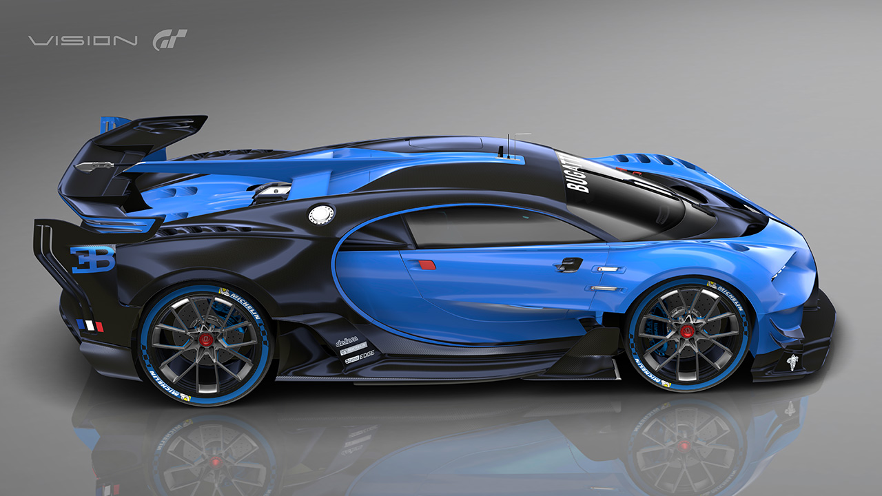 Bugatti vision gran turismo specs