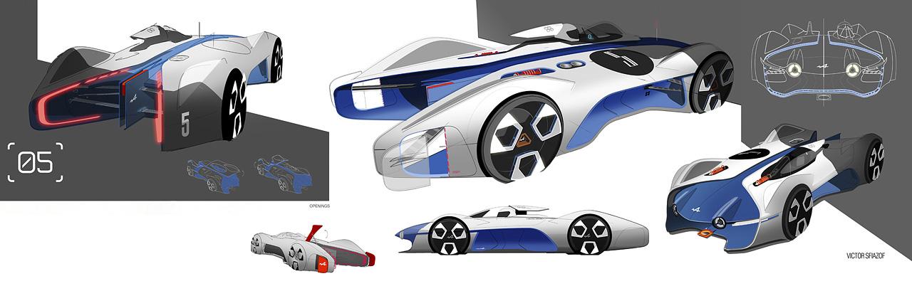 Alpine Vision Gran Turismo Gran Turismo