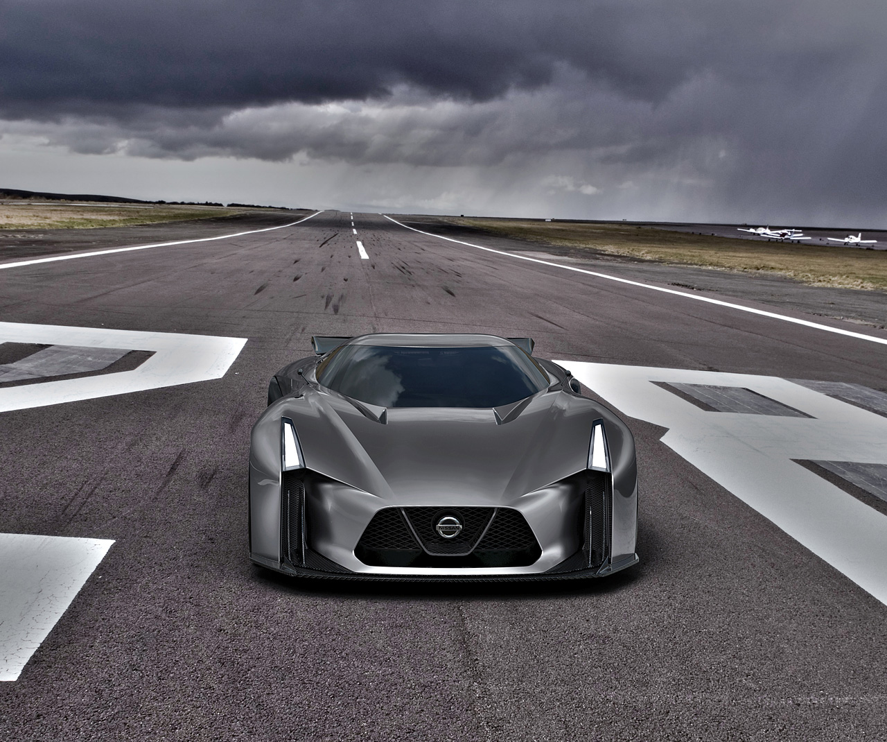 Introducing The NISSAN CONCEPT 2020 Vision Gran Turismo