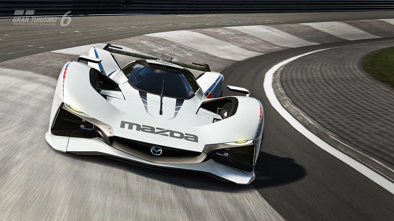 Introducing the Mazda LM55 Vision Gran Turismo with a Holiday ...