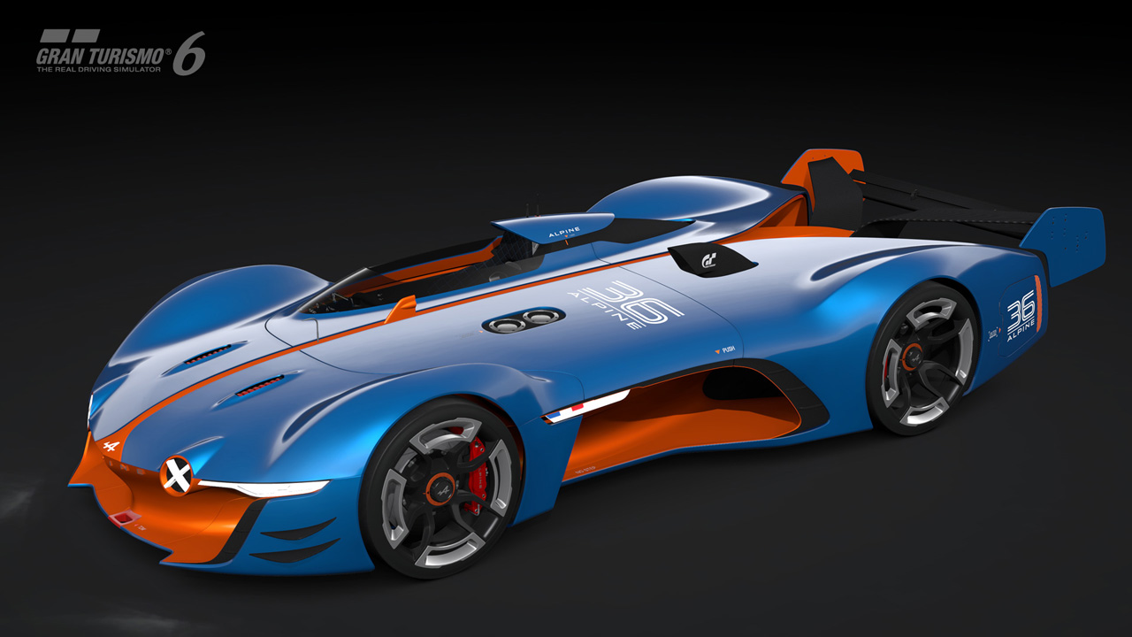 Introducing The Alpine Vision Gran Turismo Gran Turismo Com