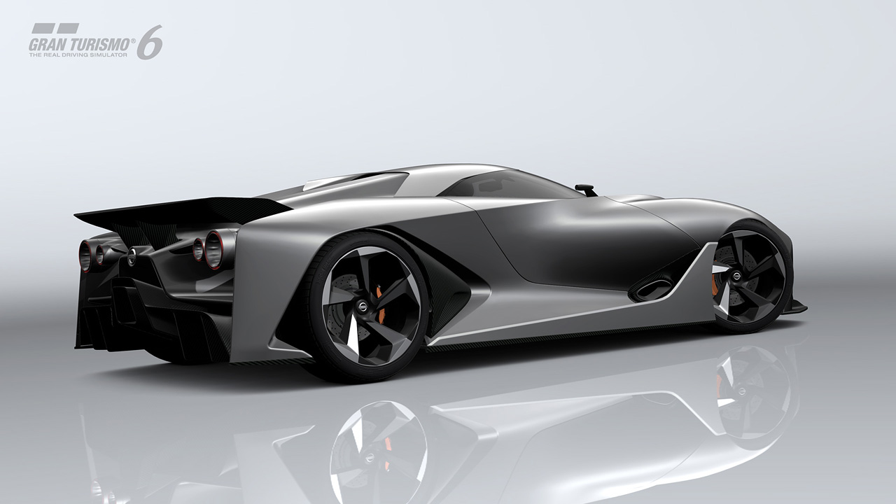 Introducing the NISSAN CONCEPT 2020 Vision Gran Turismo ...
