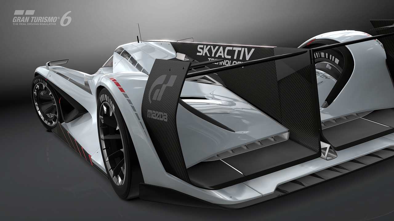 Introducing the Mazda LM55 Vision Gran Turismo with a ...