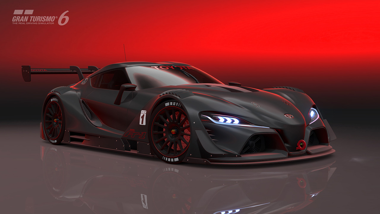 Introducing The Toyota Ft 1 Vision Gran Turismo Gran