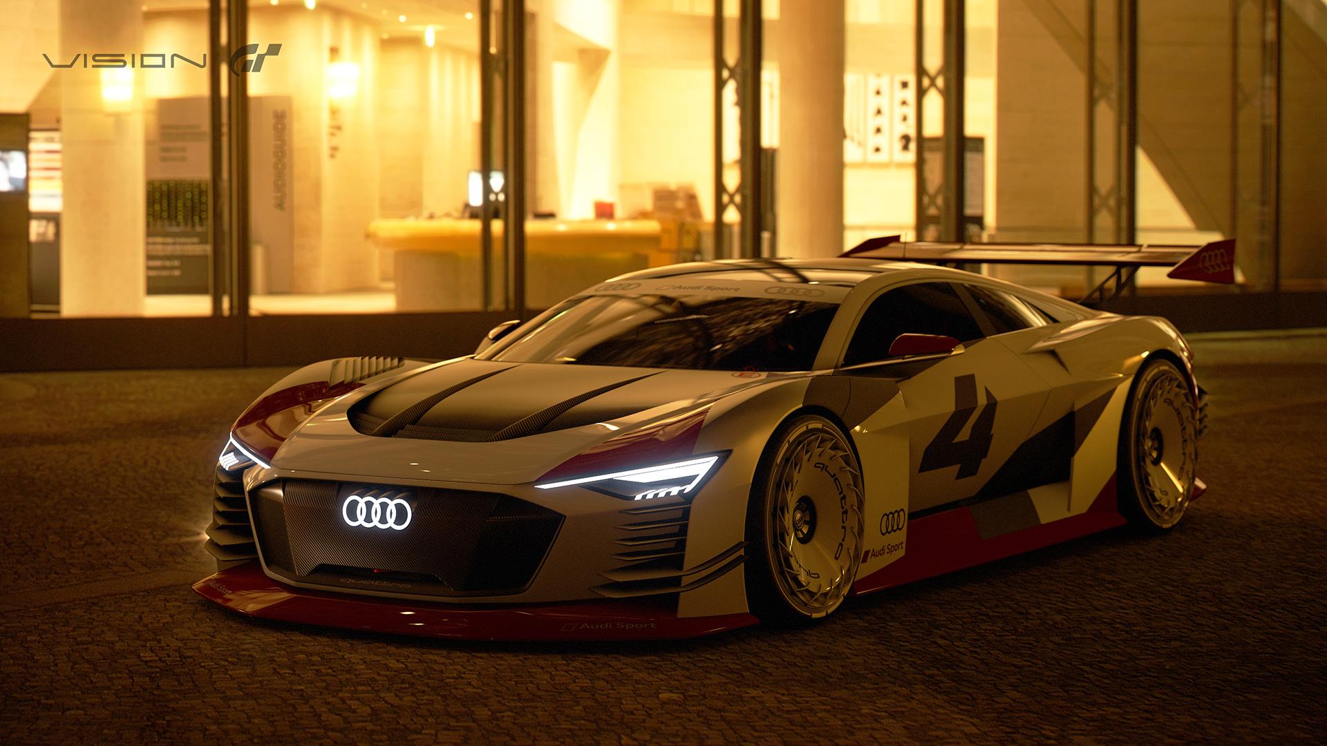 Audi E Tron Vision Gran Turismo Gran Turismocom