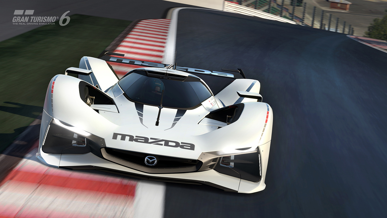 introducing the mazda lm55 vision gran turismo with a holiday season update gran. Black Bedroom Furniture Sets. Home Design Ideas