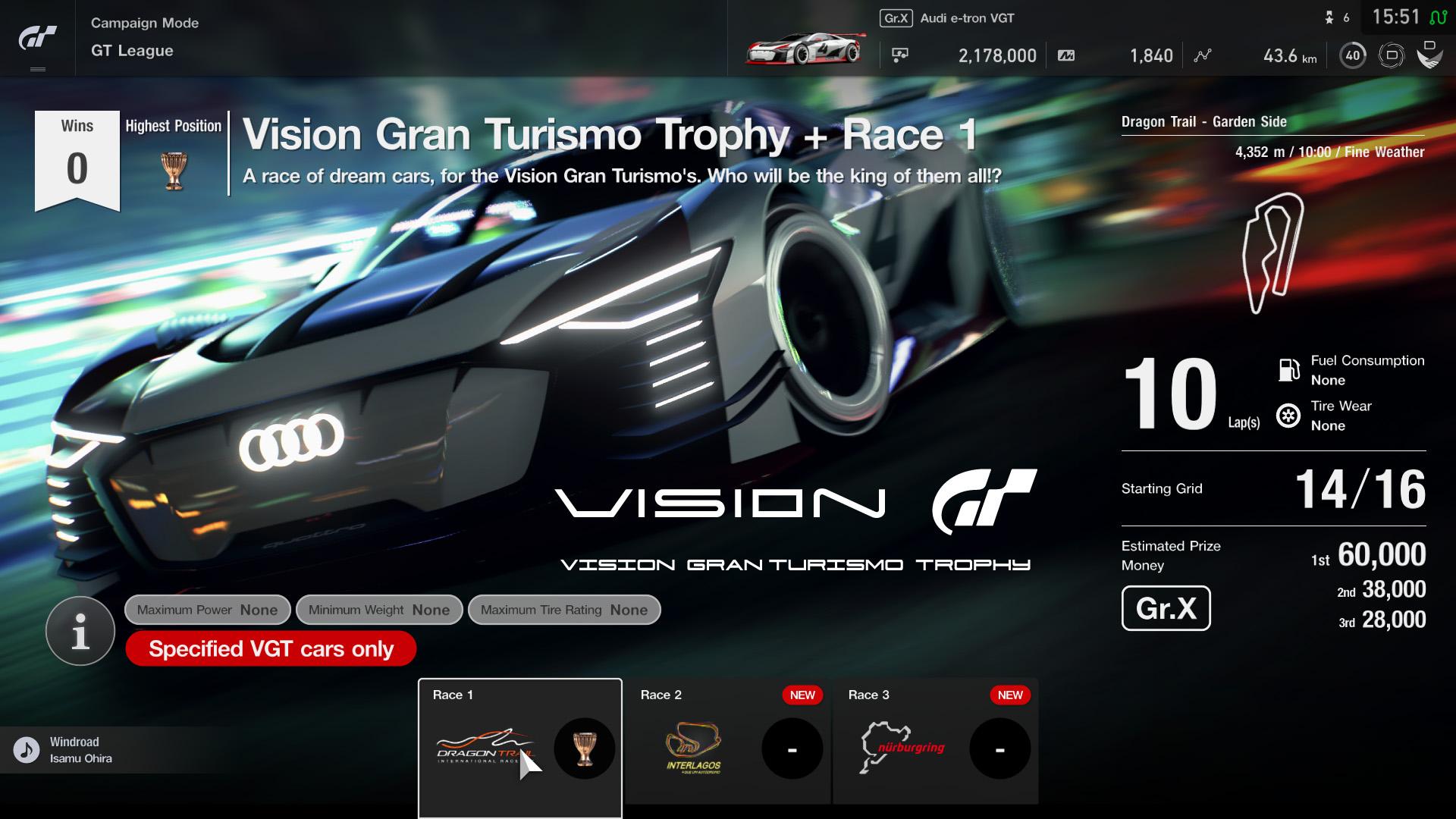 GT Sport: novo evento
