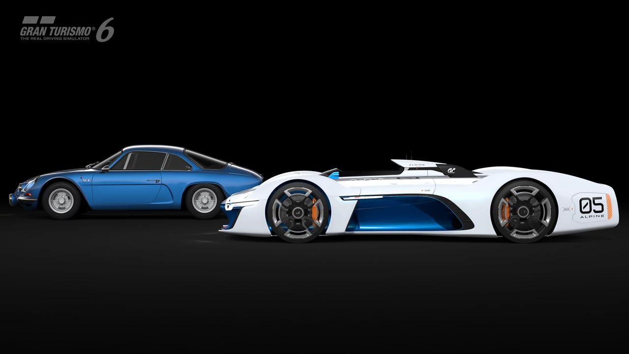 Alpine Vision Gran Turismo Revealed - gran-turismo.com