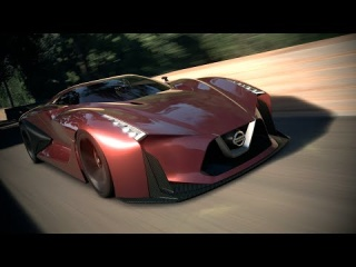 Full-Scale Model of the Nissan Concept 2020 Vision Gran ...