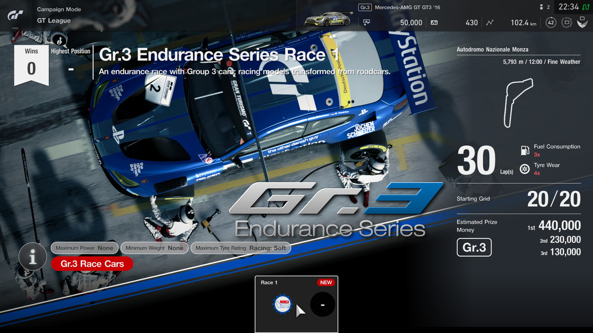 GT League GT3 Endurance Series