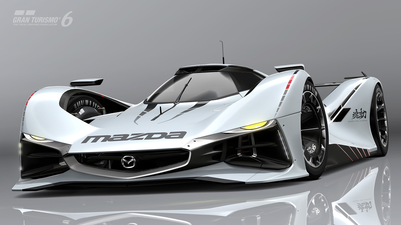 introducing the mazda lm55 vision gran turismo with a. Black Bedroom Furniture Sets. Home Design Ideas