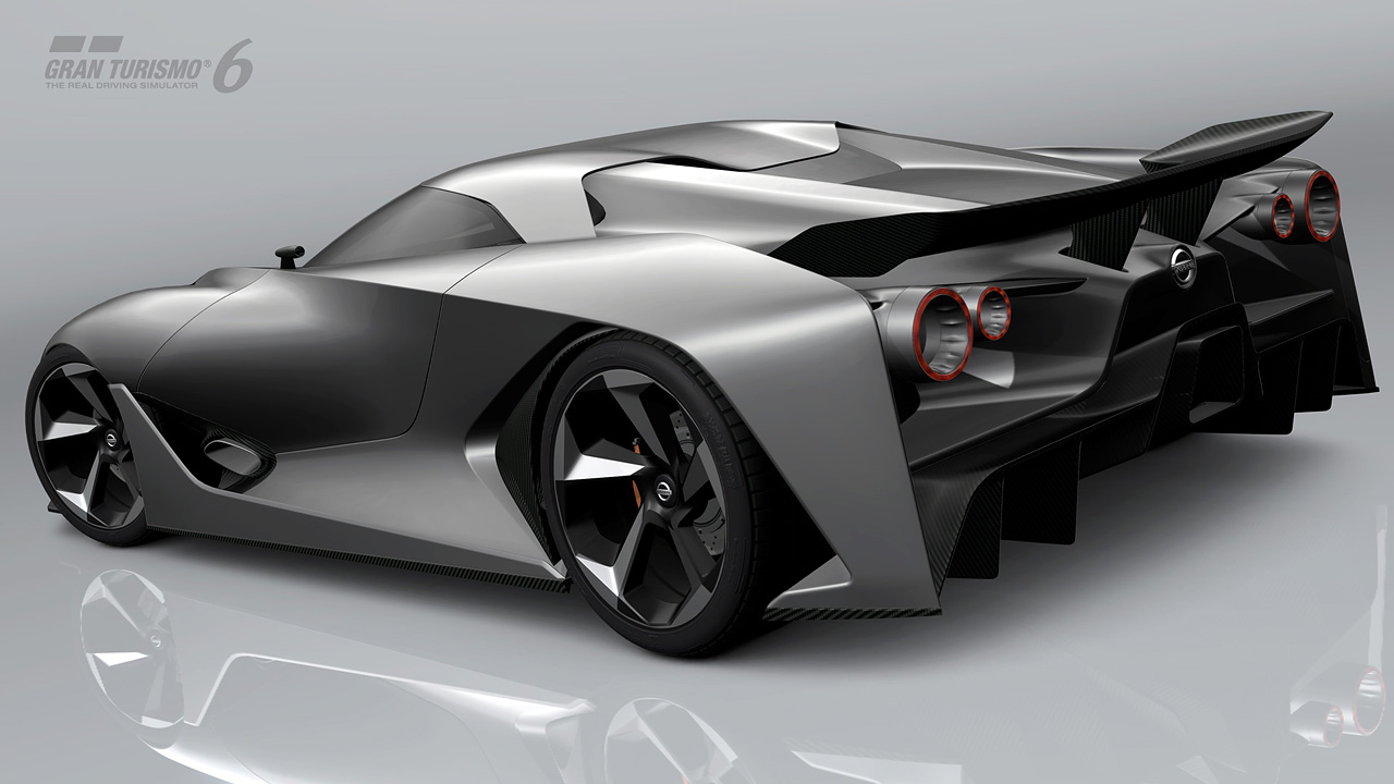 Nissan Concept 2020 Vision Gran Turismo Gran Turismo Com