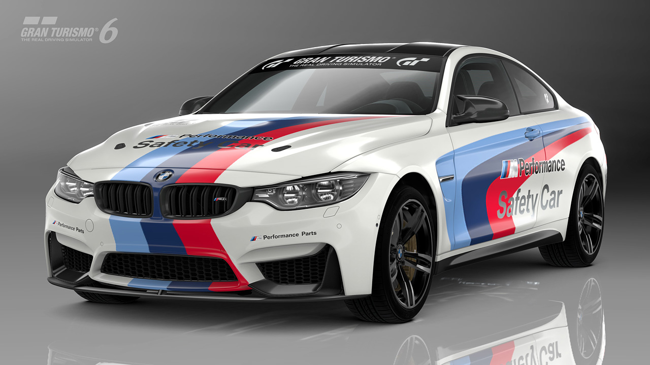Bmw M4 Safety Car At Sema Available For Gran Turismo 6