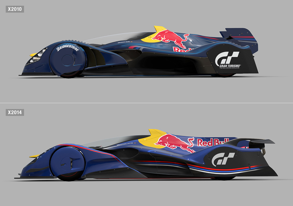 World Car Mazda >> The Red Bull X2014 Fan Car Comes to Life in the Form of a ...